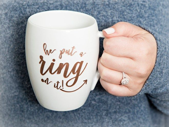 He put a ring on it. A Macy's ring that is! [ad]