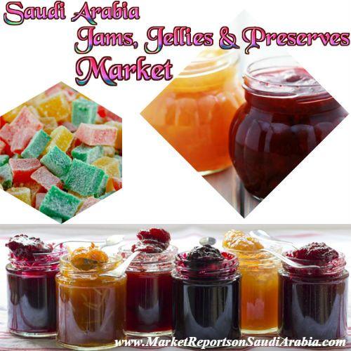Jams, #Jellies and #Preserves Market in #SaudiArabia
