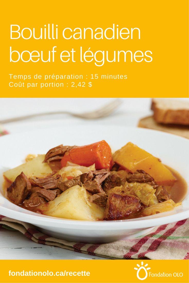 Bouilli de légumes racines, boeuf et chou : une recette classique et réconfortante de nos grands-mères. Se prépare en 15 minutes.   ---  Recette facile, Recette économique, Recette rapide, Recette nutritive --- #Légumes