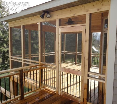 Screen Porches Deck Picture Gallery Decks In 2018 Pinterest Porch Screened And