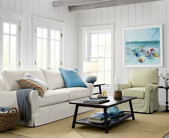 coastal living room chairs cottage sofa cottage style 16494