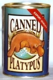 this better be a joke.  poor little platypi.   they are poisonous you know.