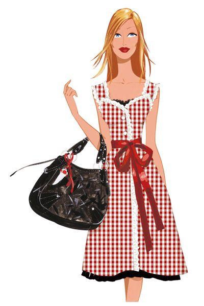 Me chiflan las ilustraciones de Jordi Labanda. Tengo bolsos, camisetas, vasos, libretas....