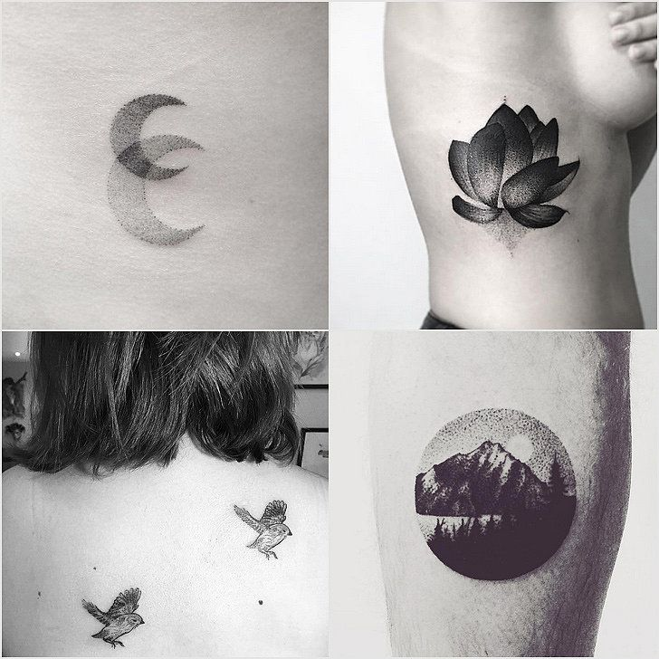 You'll Stare For Hours at These Mesmerizing Dotwork Tattoos