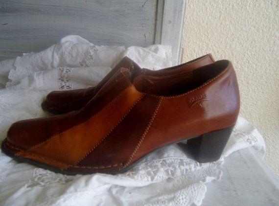 Chaussure Pikolinos cuir vintage  Chaussures par FrenchTouchSoChic