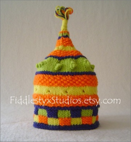 Knitted Baby Hat $60
