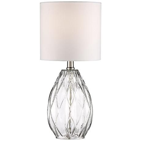 Lamps 29 17 5 rita clear glass table lamp