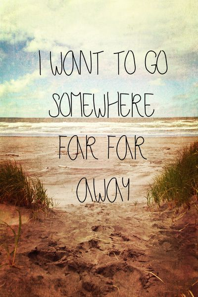I just want to run away. Help?