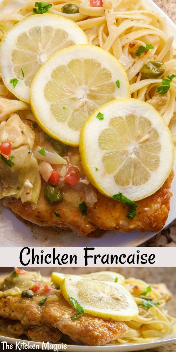 How to make decadent, lemony Chicken Francaise! Th…
