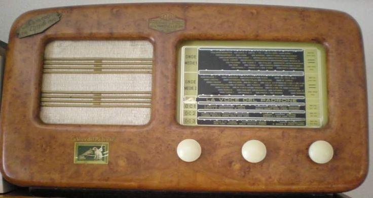 RADIO EPOCA Voce del Padrone 509 Anno 1949... a Campobasso - Kijiji: Annunci di eBay