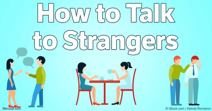 Talking with strangers may place you outside your comfort zone, but it has…