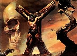 Conan on St. Andrew's cross https://www.google.com/search?client=firefox