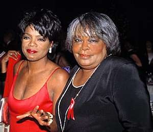 Oprah Winfrey With Her Mother, Vernita Lee...Though Raised By Her Father &…
