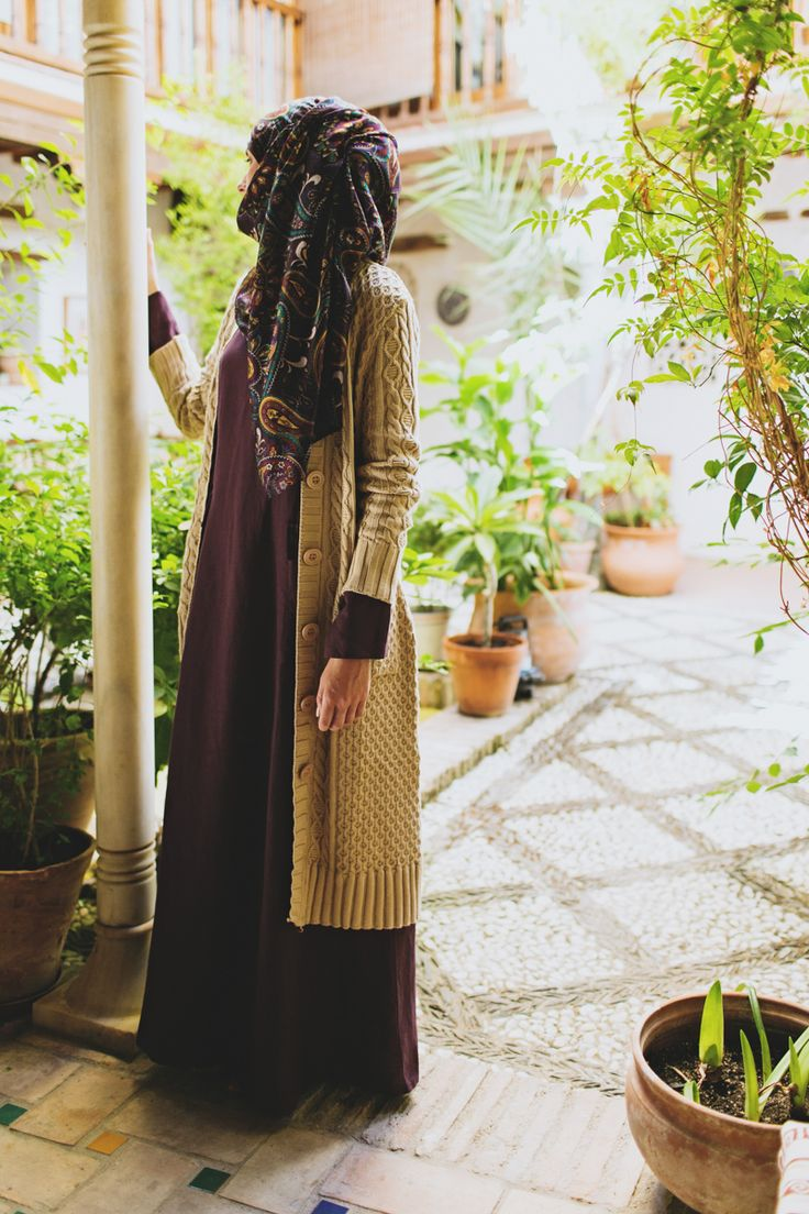 SHUKR Amira Long Cardigan is still available! A cozy cardigan for everyone