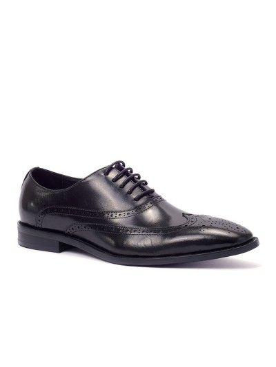 Shop Dime Buffalo Black Men's Brogue Dress Shoes Online Australia
