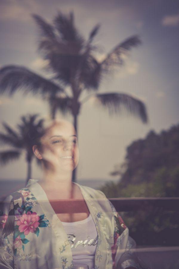 Bride and coconut trees #auroremartignoni #wedding #weddingphotography #weddinginthailand #weddingphotographer