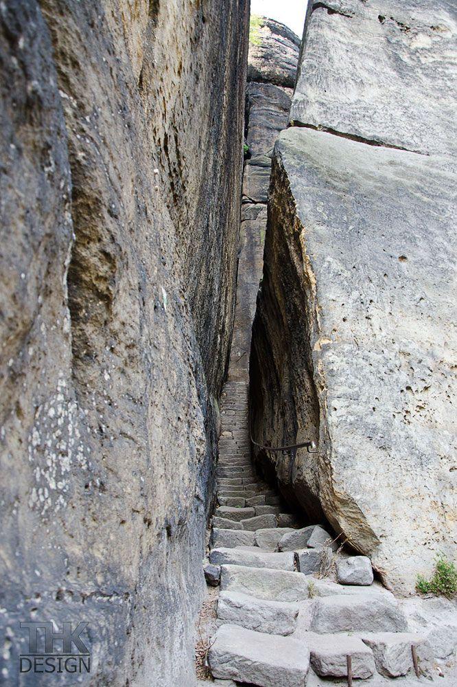 Pfaffenstein, romantischer Klammweg
