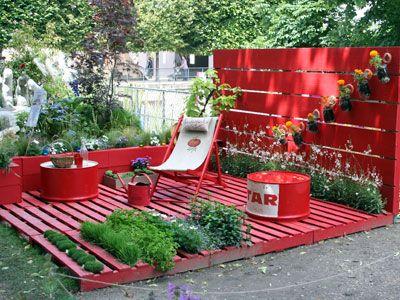 17 meilleures id es propos de pots de fleurs d cor s sur pinterest pots de fleurs peints Decorer sa terrasse exterieure