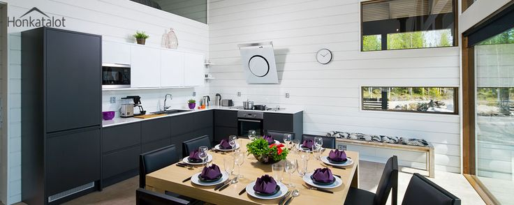 Polar 132 | Modern wooden home - Honkatalot.fi