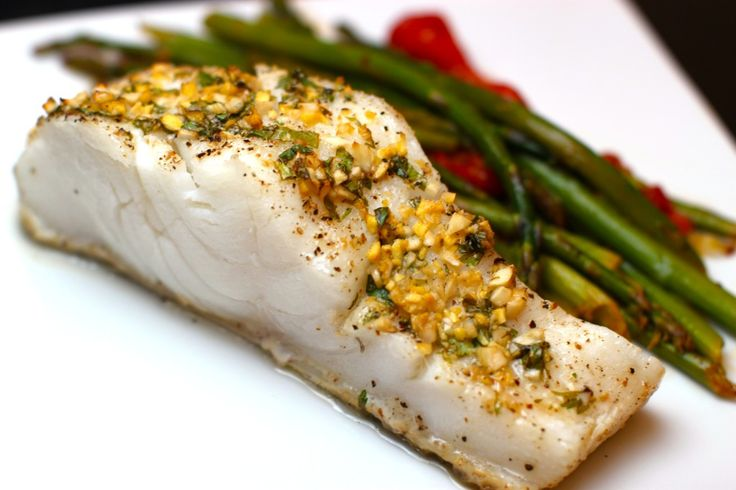 Ginger & Lime Baked Sea Bass - The Defined Dish - Whole30