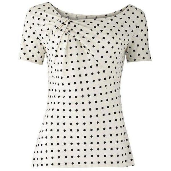 Dot Twist Top and other apparel, accessories and trends. Browse and shop 35 related looks.