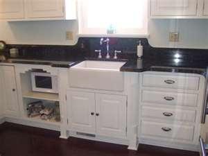 Art Deco kitchen... love this!