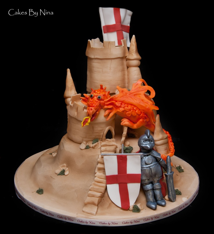 cake decorating ideas 17 best ideas about st georges day cakes on st 2211