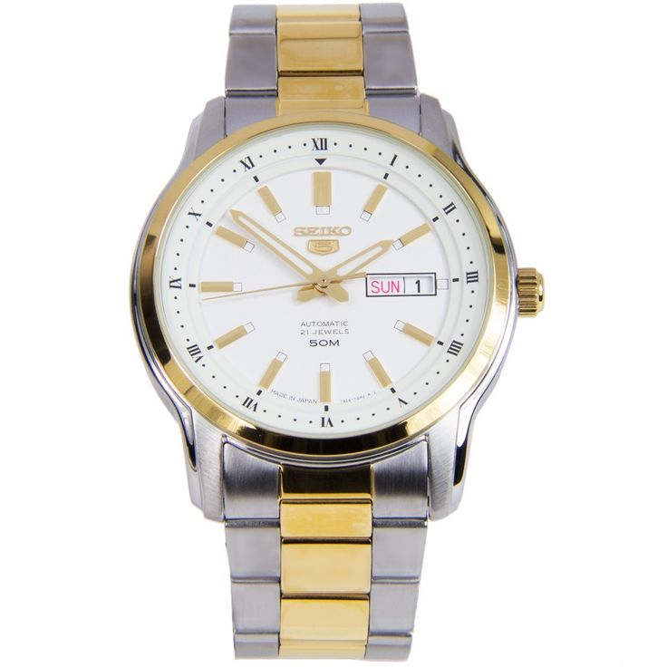 A-Watches.com - Seiko 5 Automatic Watch SNKP14J1 SNKP14, $128.00 (https://www.a-watches.com/seiko-5-automatic-watch-snkp14j1-snkp14/)