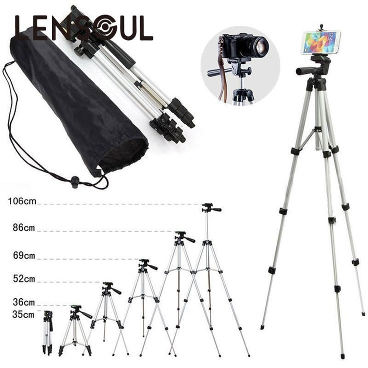 lensoul 35-102cm 4 Section Extendable Aluminum Tripod Mount Digital Camera Foldable Tripods for Sony Nikon Canon Compact Camera //Price: $13.98//     #storecharger