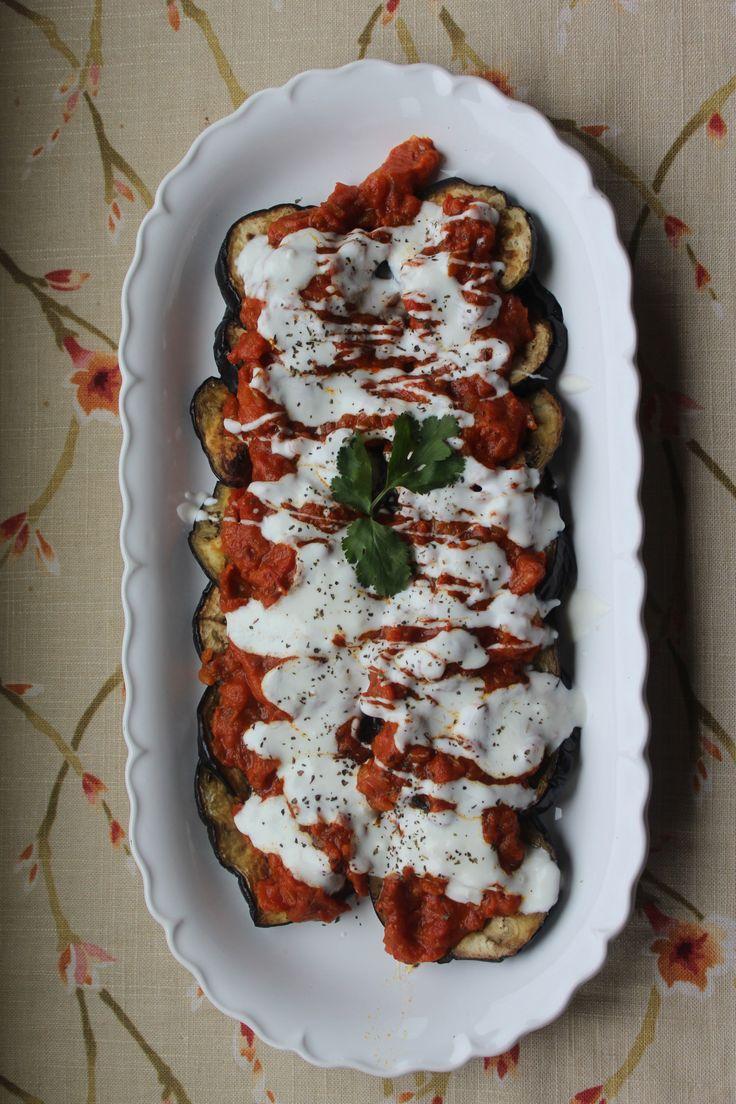 Borani Banjan (Afghan Eggplant Dish) | honey and dates