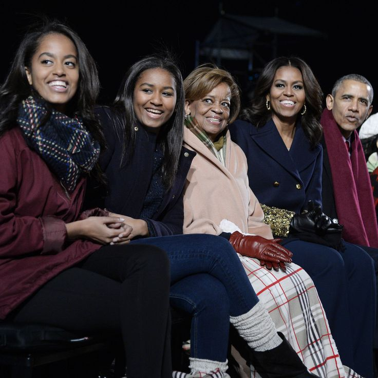 Merry and bright | Each time we see First Lady Michelle Obama out with her daughters, Malia, 17, and Sasha, 14, we're reminded of the beautiful bond mothers share with their little girls—who are growing up so fast (OMG, Malia is going to college?!) Join us in looking back at the First Lady and her daughters' sweetest moments.