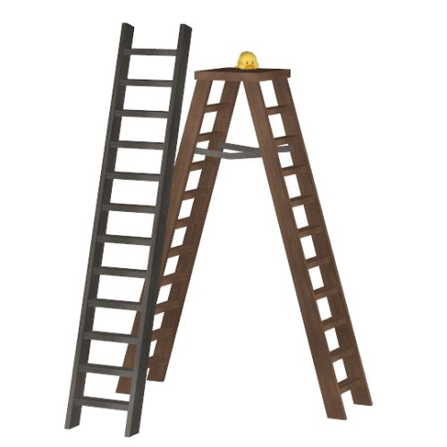 how to build a roof ladder