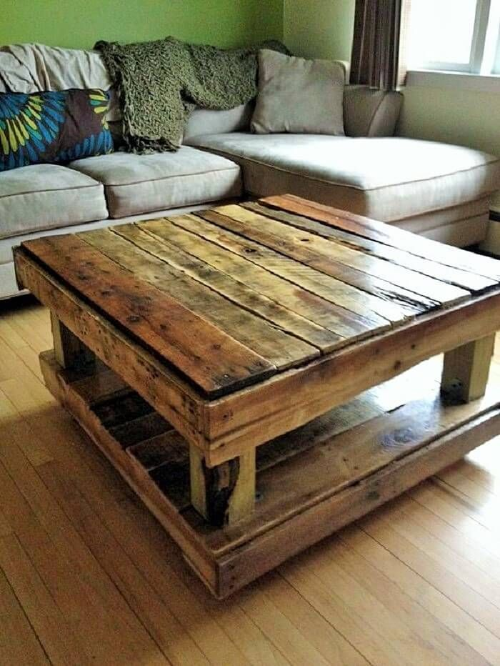 How To Make Homemade Furniture For Your Outdoor Area Pallet