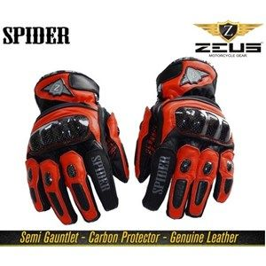 #stepinadventure !!!! Zeus Spider Motorcycle Gloves- Red/Black buy now :http://bit.ly/2fkErG6