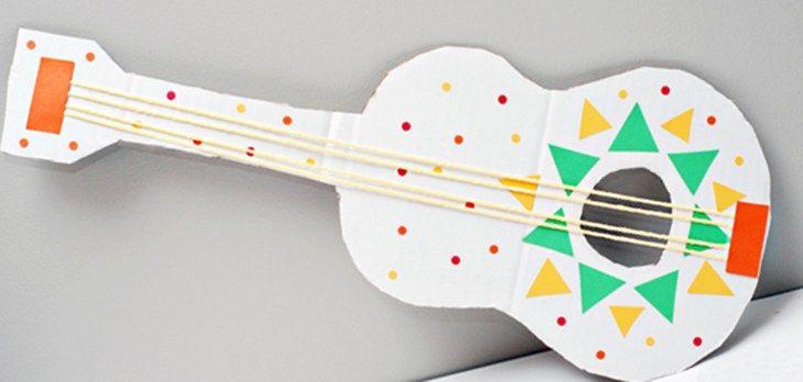 6 Instrumentos caseros para hacer con niños