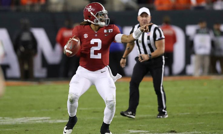 Scouting Jalen Hurts in the Alabama spring game = Alabama's 2017 spring game was all about the quarterbacks, with top running backs Bo Scarbrough and Damien Harris sidelined due to injury. Jalen Hurts and early enrollee Tua Tagovailoa aired it out, and each threw for over 300 yards. I'm going to evaluate how both of the top signal callers fared. Today, I begin with…..