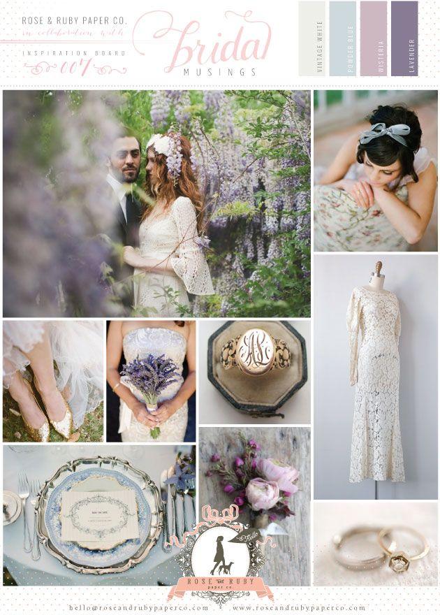 Powder Blue & Lavender Wedding Inspiration by @Rose Pendleton Murphy