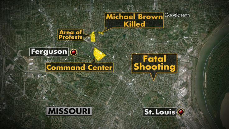 "St. Louis Cops Shoot and Kill Man Near Ferguson, Crowd Gathers - NBC News.com The man in the St. Louis shooting had taken energy drinks and a package of pastries from a nearby convenience store, the man was ""acting erratically, walking back and forth, up and down the street."" The chief said that the officers repeatedly ordered the 23-year-old man to drop the knife and drew their weapons after he refused. The chief said the man told the police: ""Shoot me now. Kill me now.""August 19th 2014"