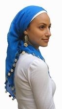 how to make jewish women head covering imagine