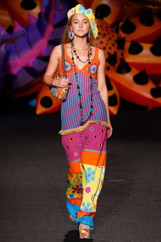 Moschino Resort 2017 Fashion Show - Devon Aoki