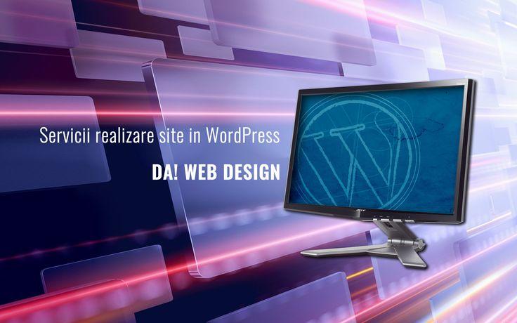 Servicii realizare website Bucuresti in platforma WordPress la preturi incepand cu 400 Lei. Bloguri, siteuri de prezentare afaceri din orice domeniu.