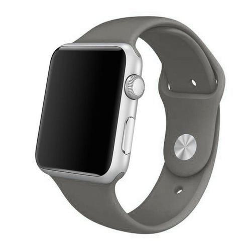 Apple Watch Grey Sport Band Strap - Mavasoap - 1