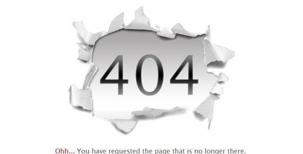 Creative 404 Error Page - Site Templates | ThemeForest