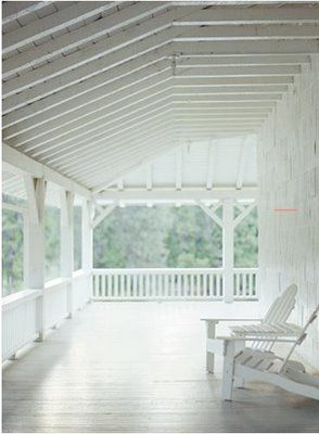 I hope one day I have a wrap around porch! One thing I've always wanted...