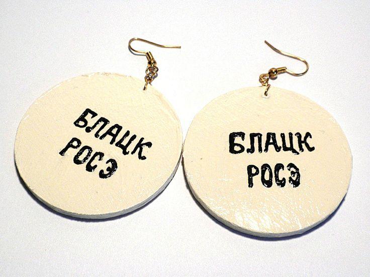 #earrings #painted #russian #matryoshka #handmade #jewelry