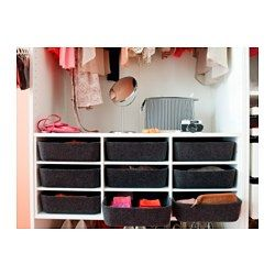 """KOMPLEMENT Sectioned shelves - 39 3/8x22 7/8 """" - IKEA"""