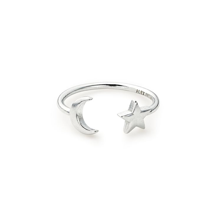 Moon and Star Ring Wrap | ALEX AND ANI