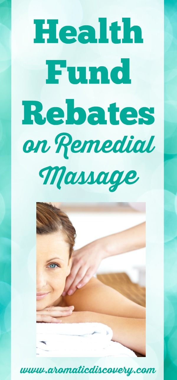 Remedial Massage is a great way to improve your body's tired and sore muscles.  If you have private health insurance in Australia....you can claim a health fund rebate at your participating fund.