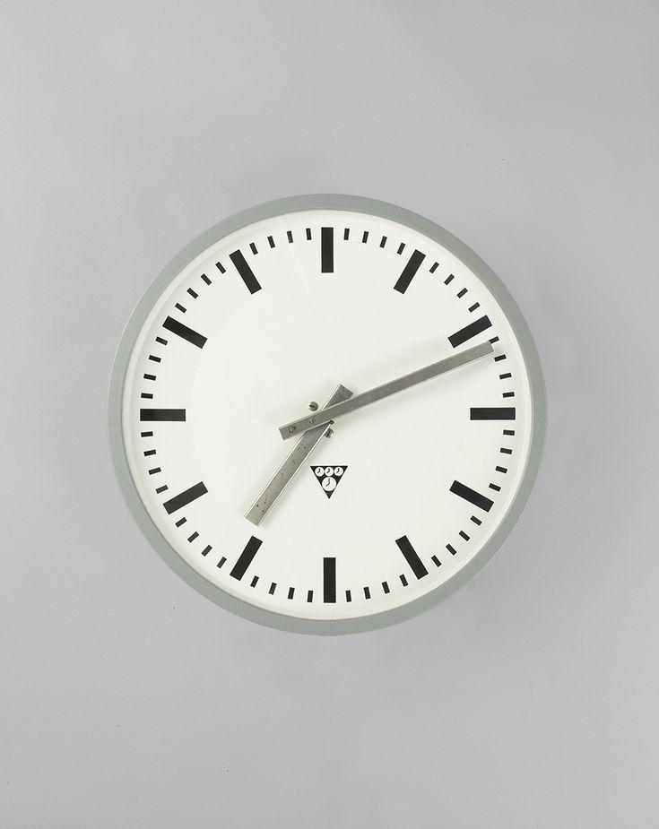 'Grey Cuckoo' #blomandblom #lighting #lamps #amsterdam #interiordesign #industrial #interior #design #furniture #clock