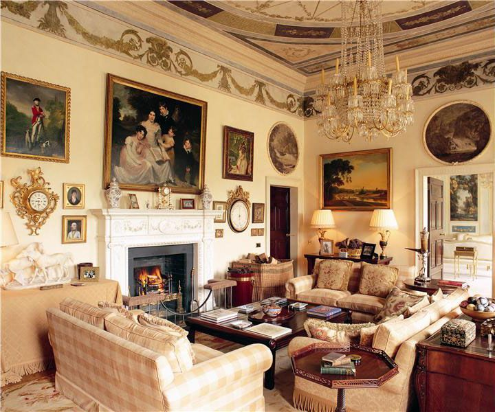 Gracious Entertaining To Be Had At Lyons Demesne In Co Kildare Ireland Restored Georgian Perfection By Tony Ryan Billionaire Founder Of Ryanair